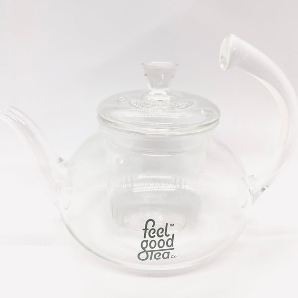Blooming Glass Teapot Infuser (Clear)