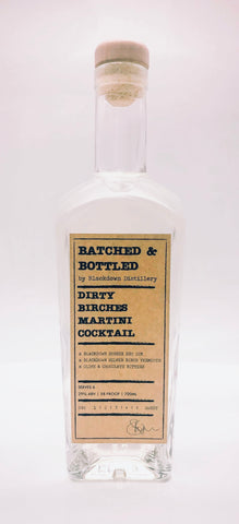 Batched & Bottled Dirty Birches Martini