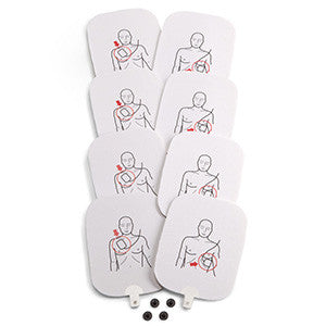Prestan AED Adult Training Pads 4-Sets