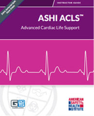 ASHI Advanced Cardiac Life Support Certification Cards (G2015 Version)