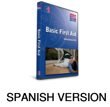 ASHI Basic First Aid DVD Spanish