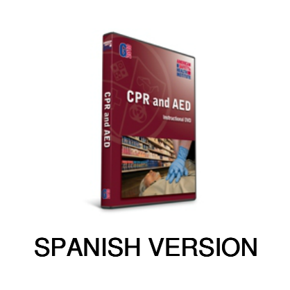 ASHI CPR/AED Program DVD - Spanish (2015 Version)