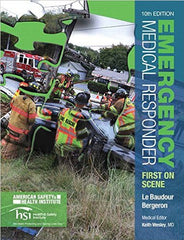 ASHI Emergency Medical Responder Student Book by Pearson - 10th Edition/ASHI 3rd Custom Edition