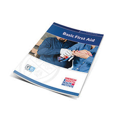 ASHI Basic First Aid Certification Cards & Student Handbooks (G2015)