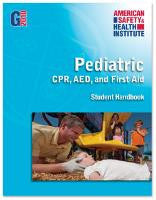 ASHI Pediatric CPR/AED/First Aid Certification Cards & Student Handbooks (G2015 Version)