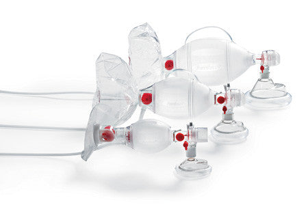 ASHI Resuscitator Mask & Reservoir Bag