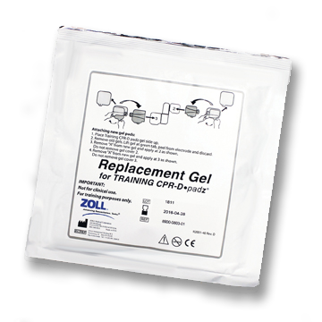 ZOLL AED Replacement Adhesive Gels for CPR-D Padz 5-Pack