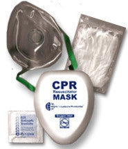 ASHI CPR Resuscitator Mask In Hard Case