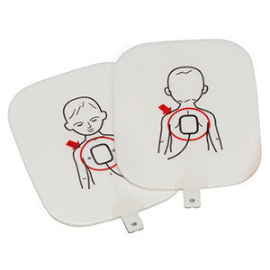 Prestan Pediatric AED Training Pads - 1 Set