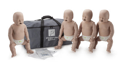 Prestan Professional Infant Manikins - 4 Pack