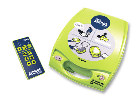 ZOLL AED Plus Trainer2 Unit & Remote Control