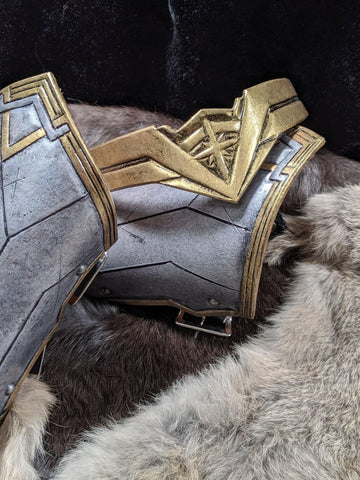 Wonder Woman Leather Cosplay Armor Set