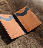 Little Stinger: Minimalist Card Wallet - Bad Mood Leather Studio