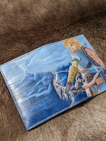 Legend of Zelda: BotW One of a Kind Leather Passport Wallet