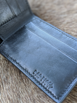 Embossed Basketweave 7 Pocket Slim Bifold