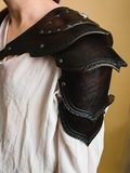 Hand Tooled Single Shoulder Armor