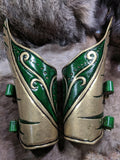 Bracers of the High Elf - Bad Mood Leather Studio
