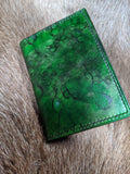 6 Slot Card Wallet - One of a Kind - Bad Mood Leather Studio