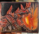 Choose Your Monster! Custom Build Monster Hunter Leather Wallet - Bad Mood Leather Studio