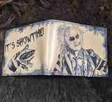 It's Showtime! - Hand Dyed Beetlejuice Bi-fold