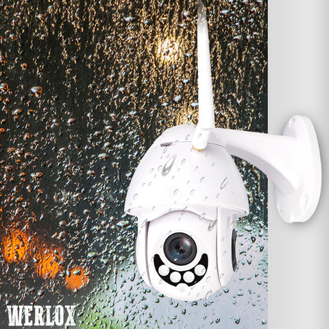 Werlox™ Professional Home Security Wifi Camera [16GB SD Card Included for FREE]
