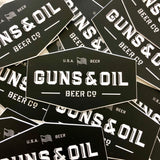 Guns & Oil Logo Decal