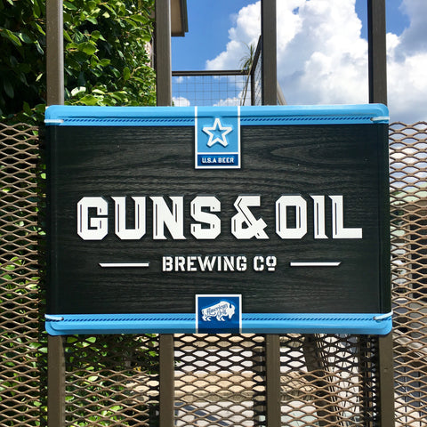 Guns & Oil Metal Wall Tacker