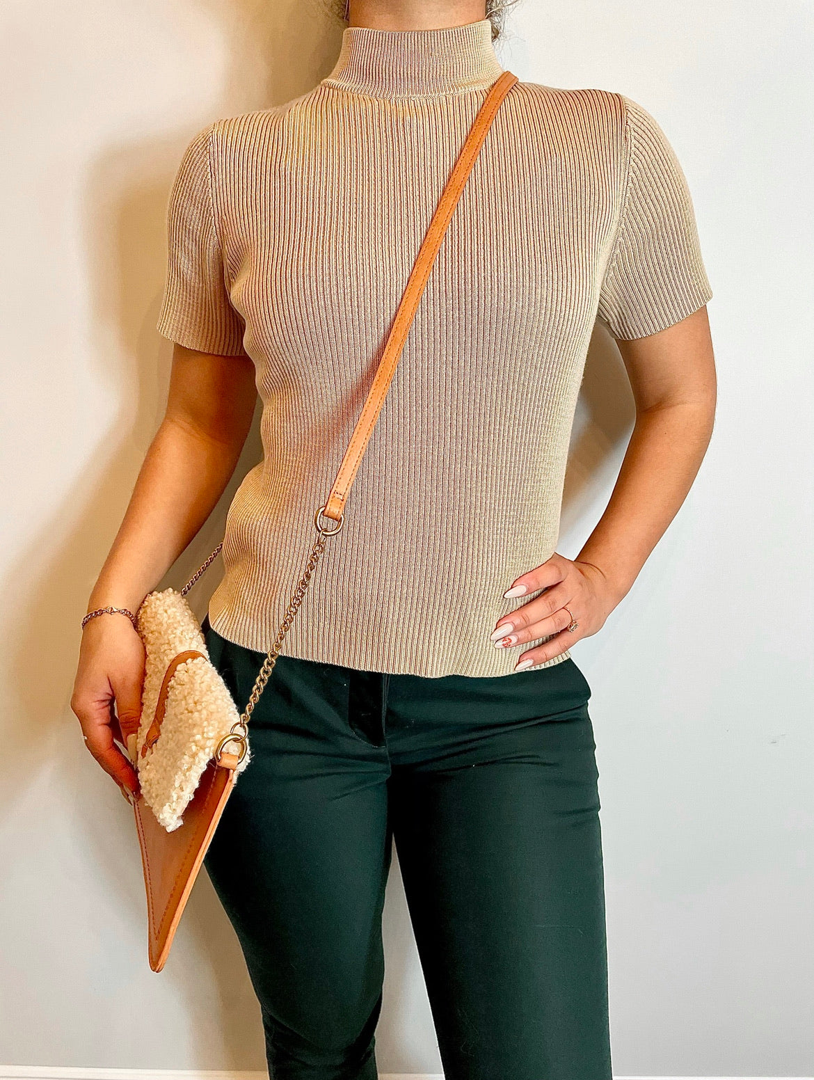Tan Sweater T