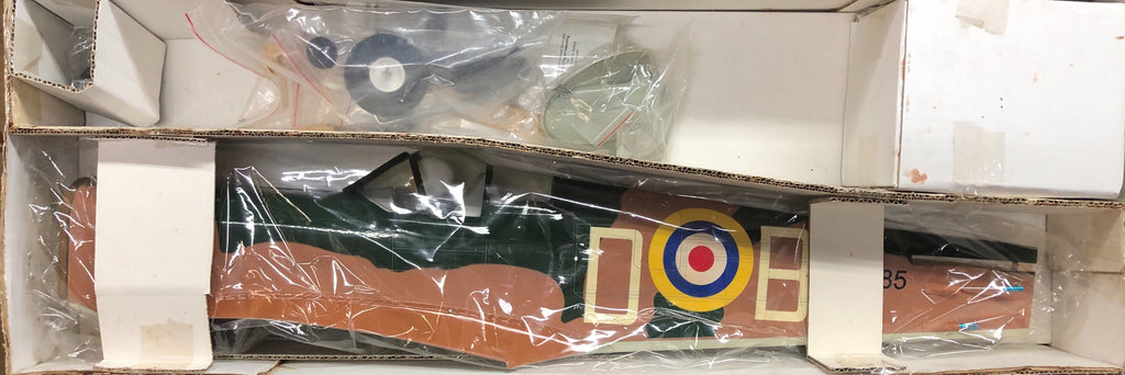 "VMAR Supermarine Spitfire ARF Kit - Green / Brown Livery (60.75"" Wingspan)"