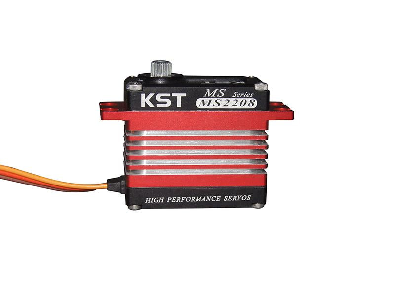 KST MS2208 Brushless HV Standard Servo With Hall Effect (Contactless) Sensor & New CNC Case Design