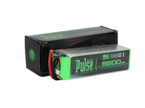PULSE 5500mAh 6S 22.2V 65C - LiPo Battery