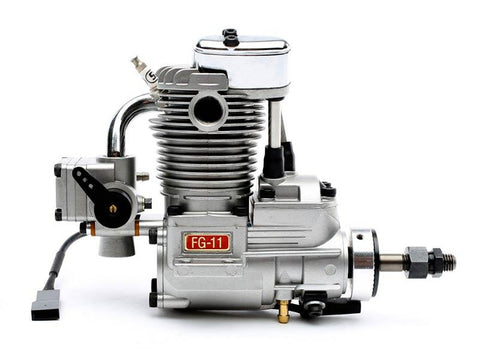 Saito FG-11 11cc Single Cylinder 4-Stroke Gas Engine - BZ