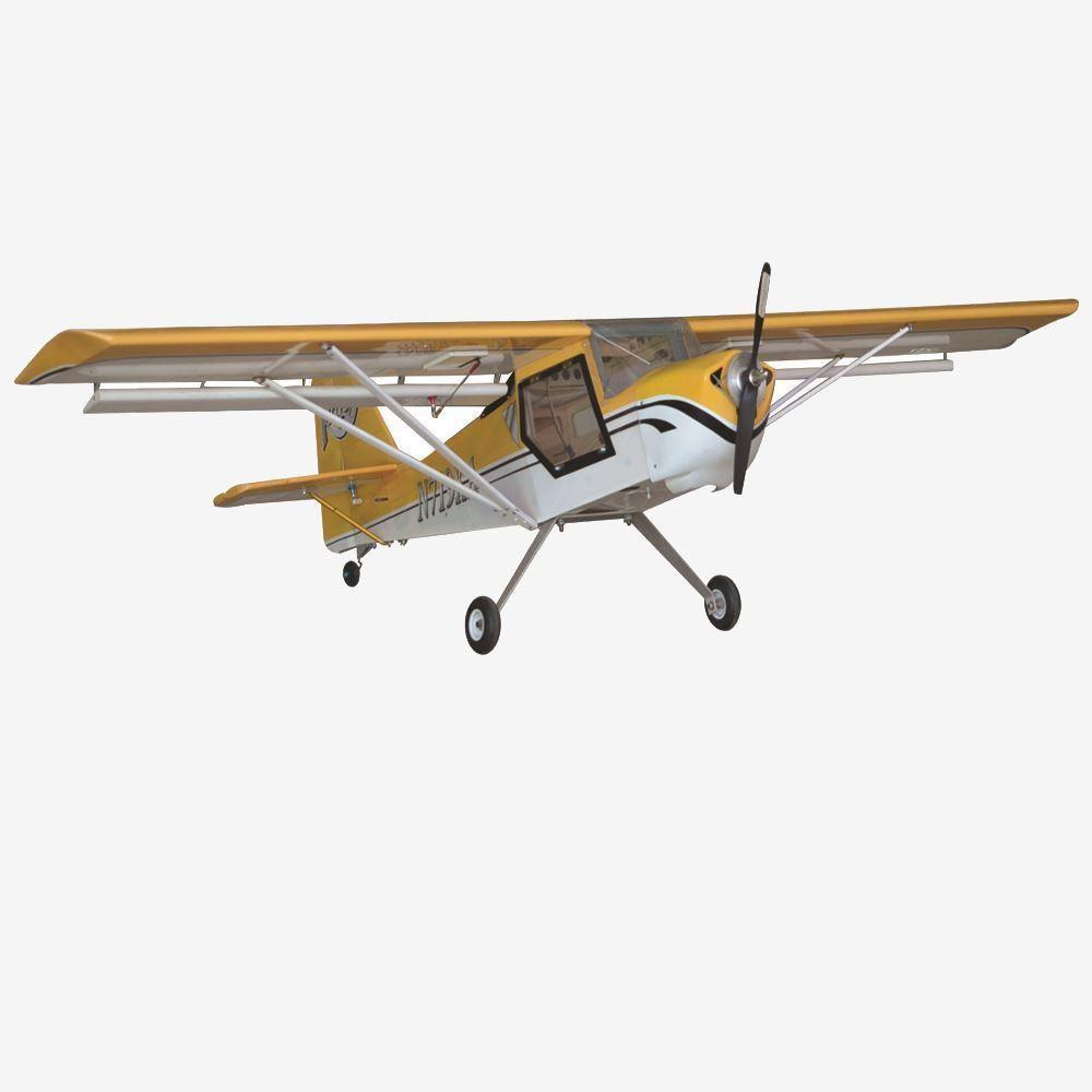 "VMAR Kitfox EP ARF Kit - Yellow (62"" Wingspan)"