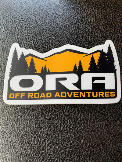 Offroad Adventures Sticker - Offroad Adventures - Oraoffroad.com