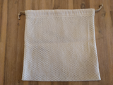 Odd Pod Laundry Wash bag, in medium size. Ideal to wash smaller items that may get lost in the wash. Perfect to combine with our reusable wipes.