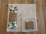 Odd Pod offers a medium bag to wash slightly larger items or reusable wipes that could get lost in the load, and a mini bag for very small items or face wipes.