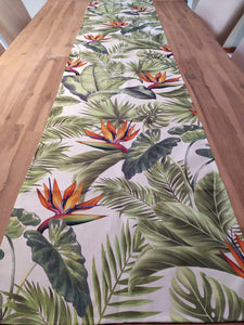 Odd Pod Table Runner, made from 100% cotton featured in bright floral designs.