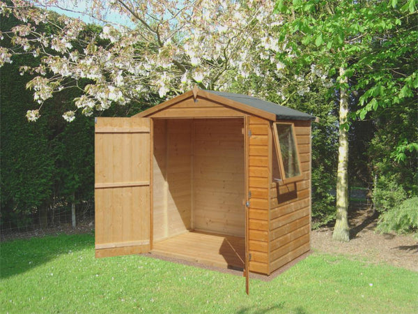 Bute Apex Shed (4' x 6')