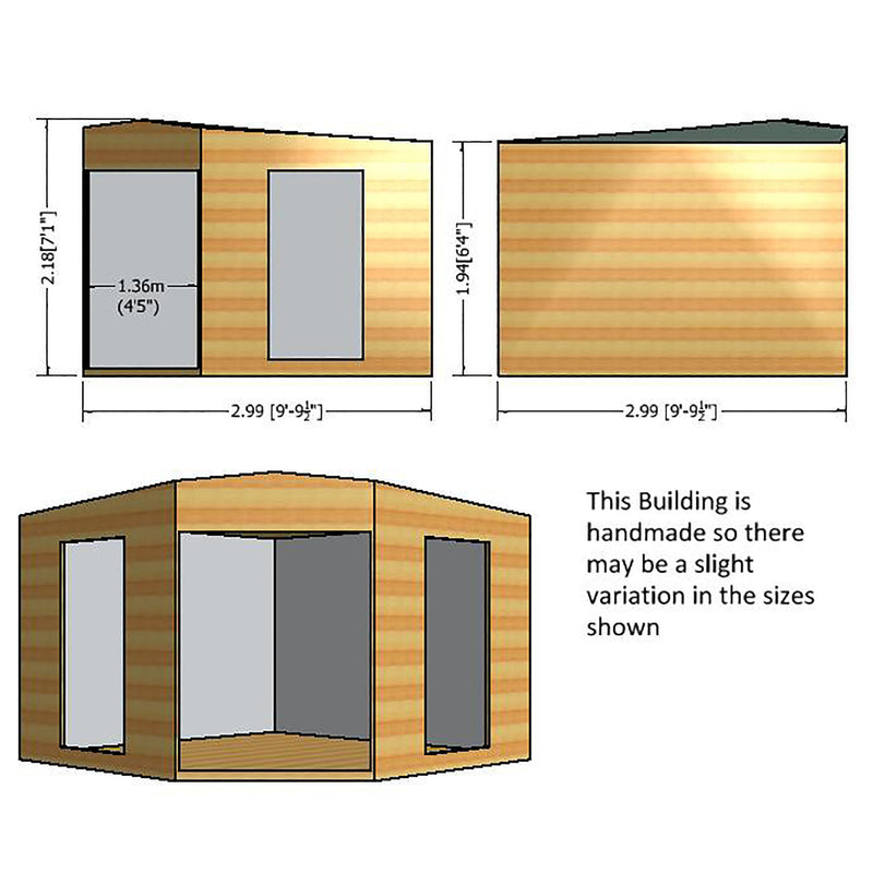 Barclay Corner Summerhouse (10' x 10)