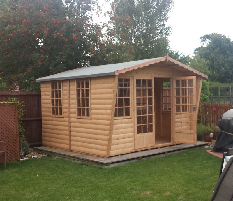 Goodwood Gold Beaulieu (12' x 12') Summerhouse
