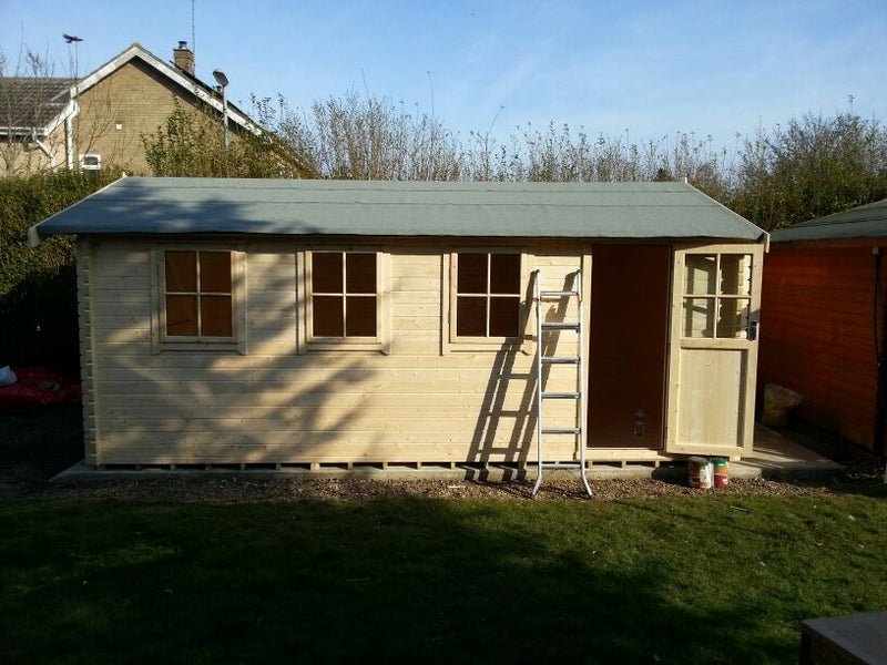 Bradenham Log Cabin - Garage - Various Sizes Available
