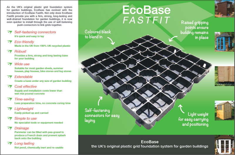 EcoBase Fastfit - Various Sizes Available