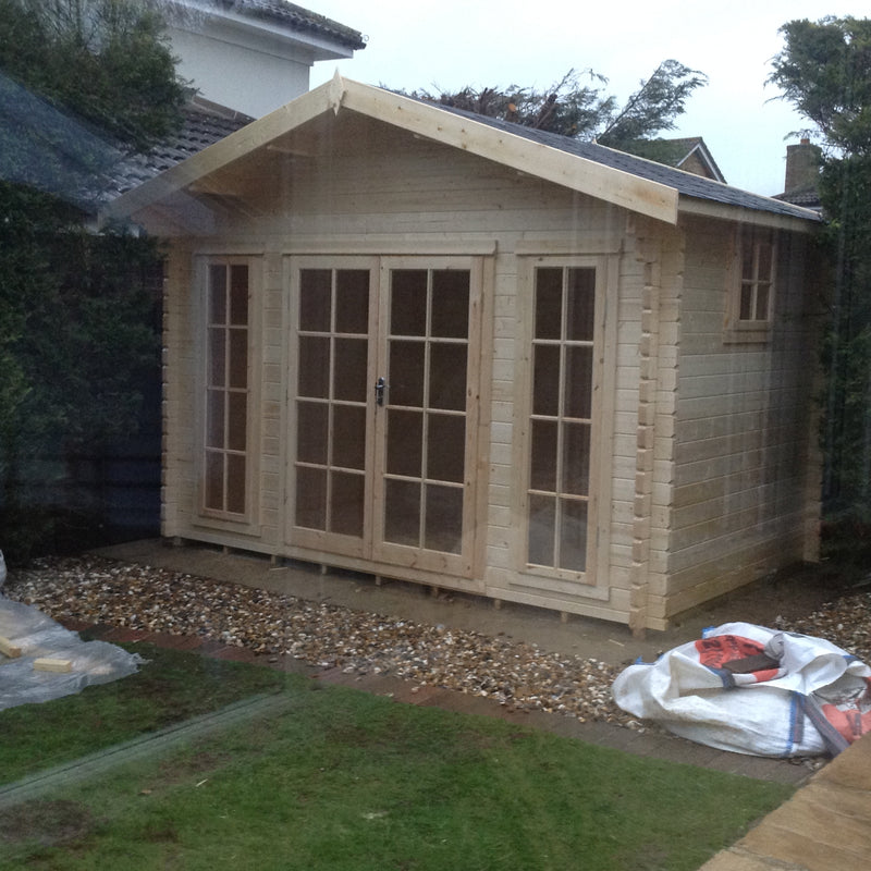 Epping Log Cabin in 28mm Logs - Various Sizes Available