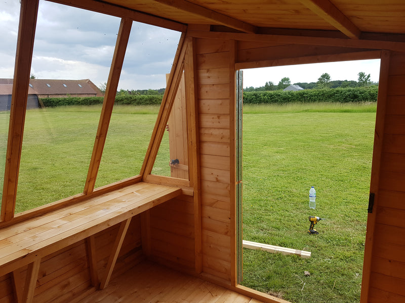 Goodwood Iceni (8' x 8') Professional Tongue and Groove Shed