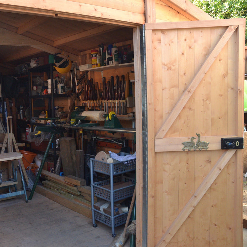 Goodwood Bison Workshop (16' x 10') Professional Tongue and Groove Apex Shed