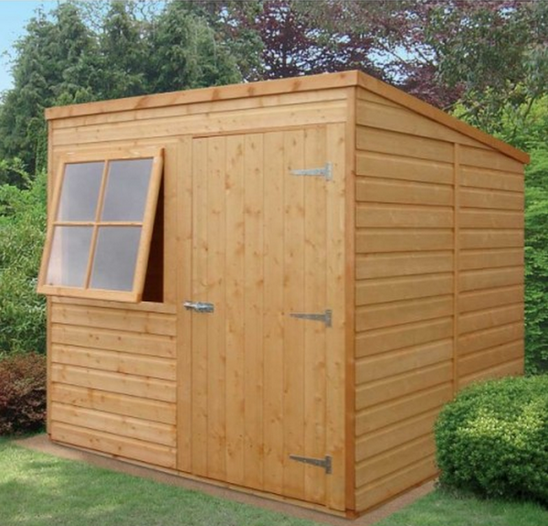 Pent Shed (7' x 7')