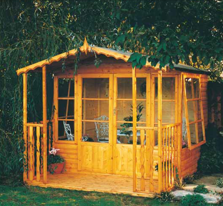 Woburn Garden Room (9' x 6') - Optional 3' Veranda Available