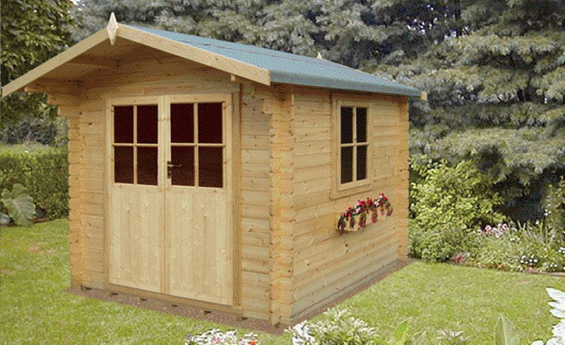 Ashdown Log Cabin in 28mm Logs - Various Sizes Available