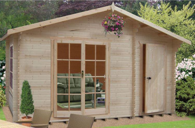 Bourne Log Cabin - Various Sizes Available