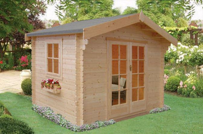 Dalby Log Cabin - Various Sizes Available